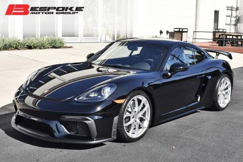 2020 Porsche 718 Cayman for sale at Bespoke Motor Group in Jericho NY