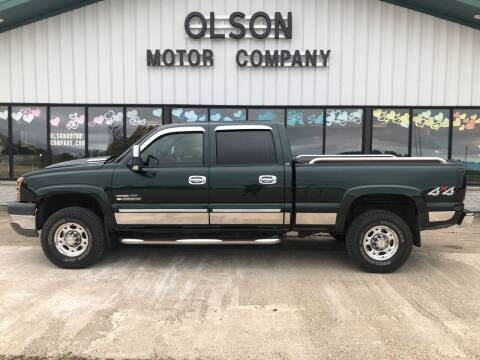 2004 Chevrolet Silverado 2500HD for sale at Olson Motor Company in Morris MN