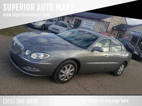 2008 Buick LaCrosse for sale at SUPERIOR AUTO MART in Amelia OH