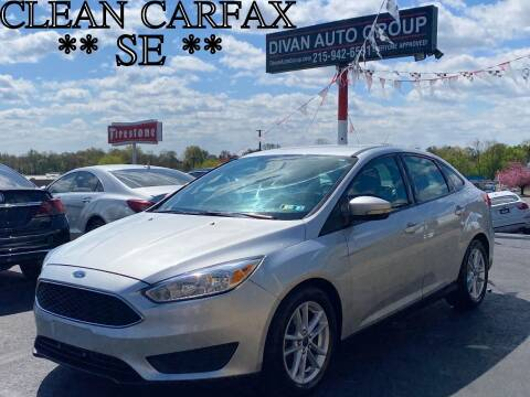 2016 Ford Focus for sale at Divan Auto Group in Feasterville Trevose PA