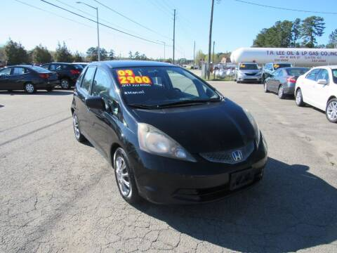 2009 Honda Fit for sale at Auto Bella Inc. in Clayton NC