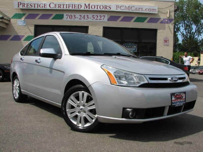 2011 Ford Focus for sale at Prestige Certified Motors in Falls Church VA