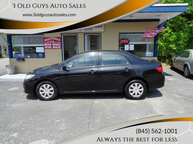 2009 Toyota Corolla for sale at 3 Old Guys Auto Sales in Newburgh NY