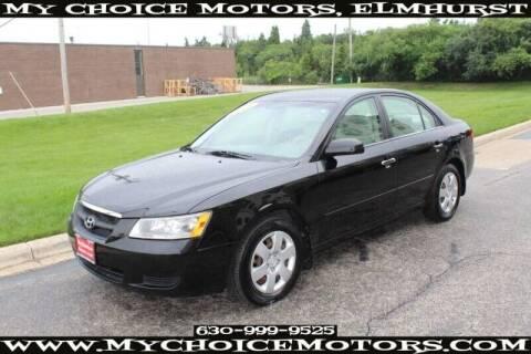 2008 Hyundai Sonata for sale at My Choice Motors Elmhurst in Elmhurst IL