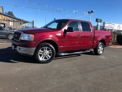 2005 Ford F-150 for sale at BOARDWALK MOTOR COMPANY in Fairfield CA