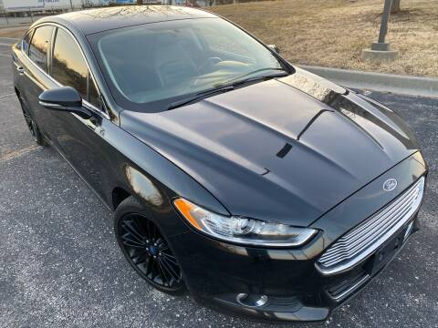2013 Ford Fusion for sale at Supreme Auto Gallery LLC in Kansas City MO