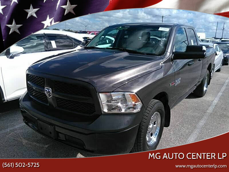 2017 RAM Ram Pickup 1500 for sale at MG Auto Center LP in Lake Park FL