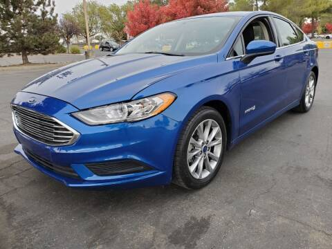 2017 Ford Fusion Hybrid for sale at Matador Motors in Sacramento CA