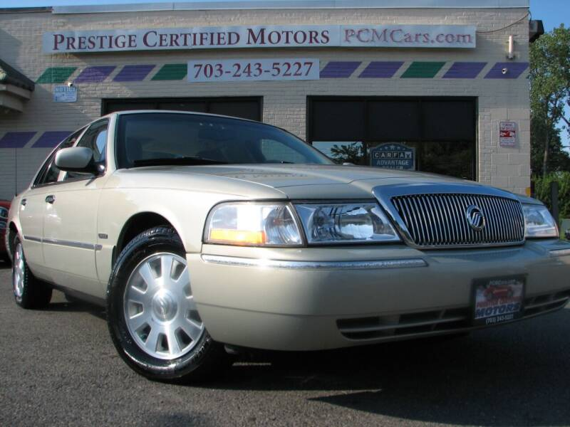 2005 Mercury Grand Marquis for sale at Prestige Certified Motors in Falls Church VA