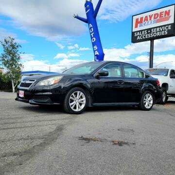 2013 Subaru Legacy for sale at Hayden Cars in Coeur D Alene ID