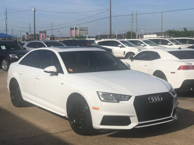 2017 Audi A4 for sale at Discount Auto Company in Houston TX