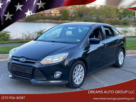 2012 Ford Focus for sale at Dreams Auto Group LLC in Sterling VA