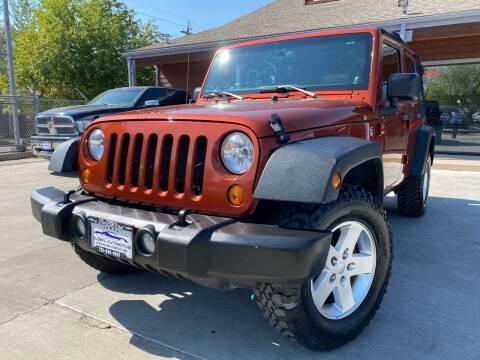 2014 Jeep Wrangler Unlimited for sale at Global Automotive Imports of Denver in Denver CO