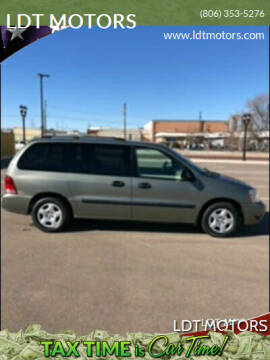 2004 Ford Freestar for sale at LDT MOTORS in Amarillo TX