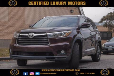 2016 Toyota Highlander for sale at CERTIFIED LUXURY MOTORS OF QUEENS in Elmhurst NY