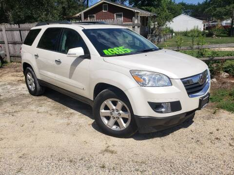 2009 Saturn Outlook for sale at Northwoods Auto & Truck Sales in Machesney Park IL
