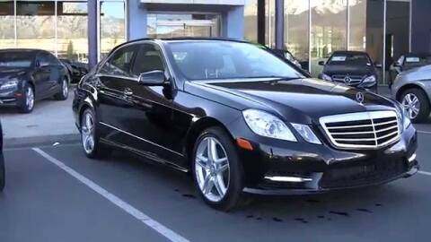 2013 Mercedes-Benz E-Class for sale at Leavitt Brothers Auto in Hooksett NH