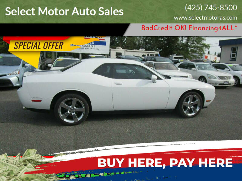 2011 Dodge Challenger for sale at Select Motor Auto Sales in Lynnwood WA