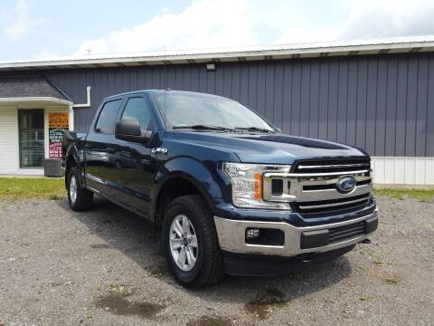 2018 Ford F-150 for sale at RS Motors in Falconer NY