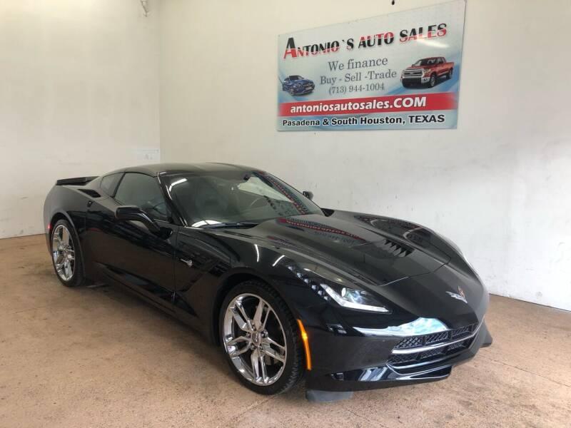 2015 Chevrolet Corvette for sale at Antonio's Auto Sales in South Houston TX
