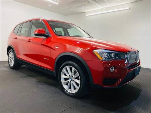 2017 BMW X3 for sale at Champagne Motor Car Company in Willimantic CT