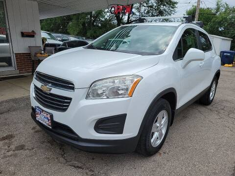 2015 Chevrolet Trax for sale at New Wheels in Glendale Heights IL