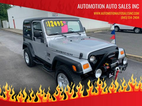 2004 Jeep Wrangler for sale at Automotion Auto Sales Inc in Kingston NY