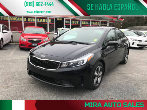 2018 Kia Forte for sale at Mira Auto Sales in Raleigh NC