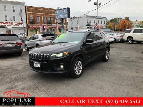 2019 Jeep Cherokee for sale at Popular Auto Mall Inc in Newark NJ
