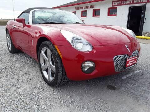 2007 Pontiac Solstice for sale at Sarpy County Motors in Springfield NE