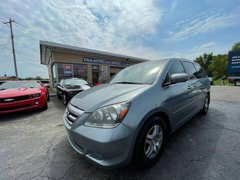 2005 Honda Odyssey for sale at USA Auto Sales & Services, LLC in Mason OH
