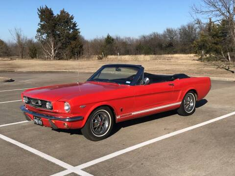 1966 Ford Mustang for sale at Enthusiast Motorcars of Texas in Rowlett TX