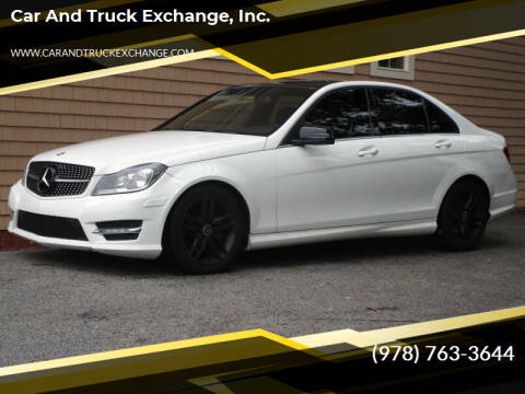 2012 Mercedes-Benz C-Class for sale at Car and Truck Exchange, Inc. in Rowley MA