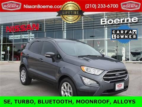 2019 Ford EcoSport for sale at Nissan of Boerne in Boerne TX