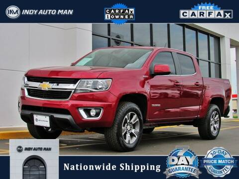 2017 Chevrolet Colorado for sale at INDY AUTO MAN in Indianapolis IN
