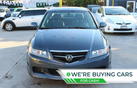 2005 Acura TSX for sale at FJ Auto Sales North Hollywood in North Hollywood CA