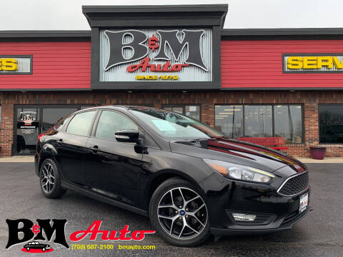 2018 Ford Focus for sale at B & M Auto Sales Inc. in Oak Forest IL