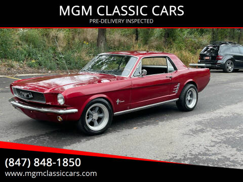 1966 Ford Mustang for sale at MGM CLASSIC CARS in Addison IL