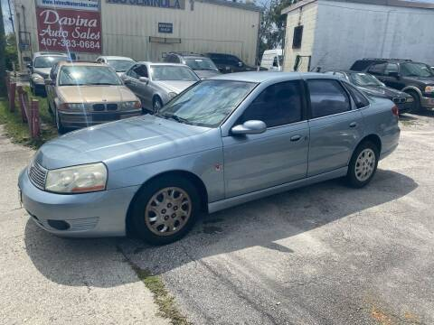 2003 Saturn L-Series for sale at DAVINA AUTO SALES in Casselberry FL