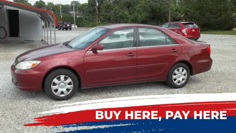 2003 Toyota Camry for sale at MIKE'S CYCLE & AUTO - Mikes Cycle and Auto (Liberty) in Liberty IN