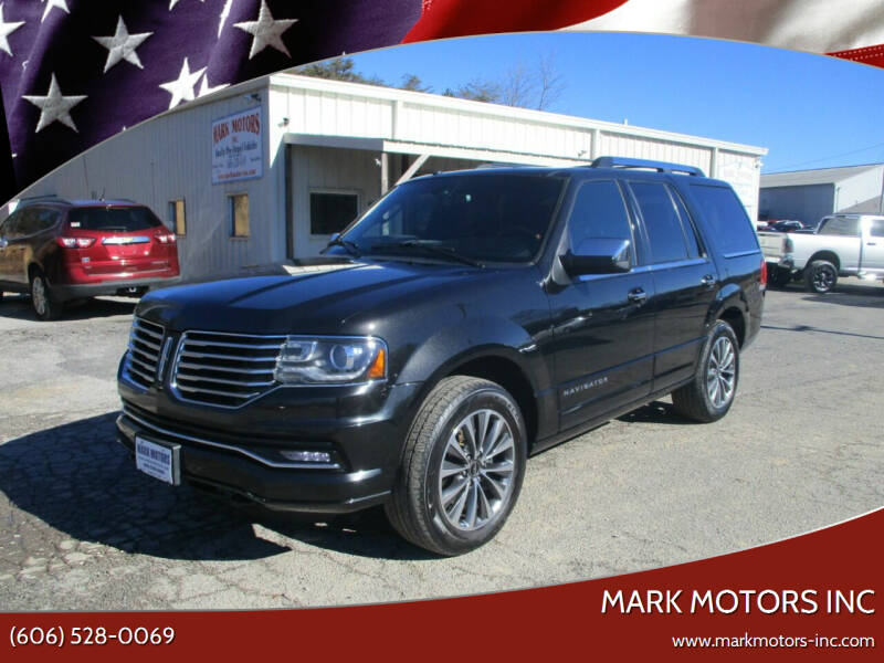 2015 Lincoln Navigator for sale at Mark Motors Inc in Gray KY