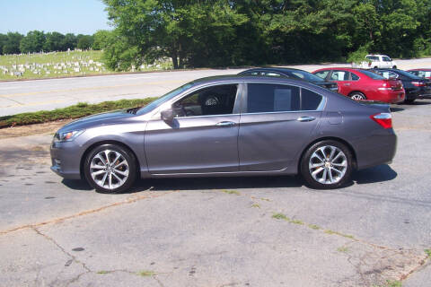 2015 Honda Accord for sale at Blackwood's Auto Sales in Union SC