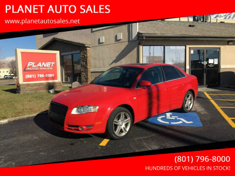 2007 Audi A4 for sale at PLANET AUTO SALES in Lindon UT