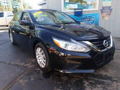 2017 Nissan Altima for sale at Fleetwing Auto Sales in Erie PA