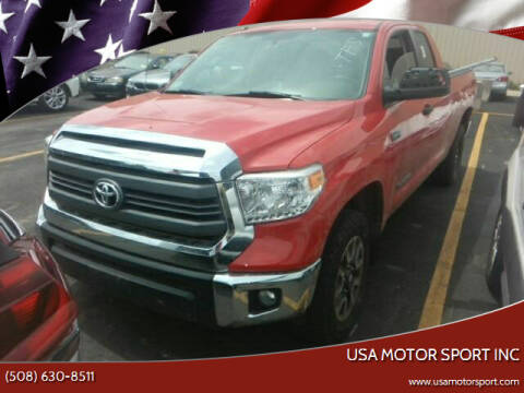 2015 Toyota Tundra for sale at USA Motor Sport inc in Marlborough MA