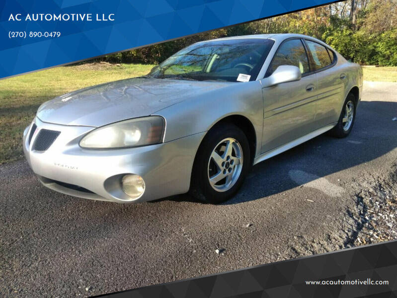 2004 Pontiac Grand Prix for sale at AC AUTOMOTIVE LLC in Hopkinsville KY