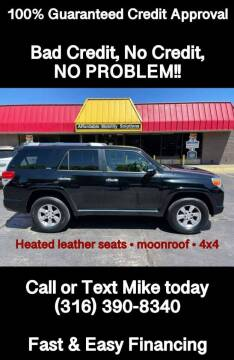 2011 Toyota 4Runner for sale at Affordable Mobility Solutions, LLC in Wichita KS