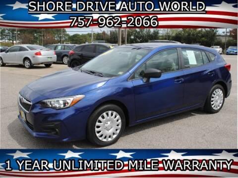 2018 Subaru Impreza for sale at Shore Drive Auto World in Virginia Beach VA