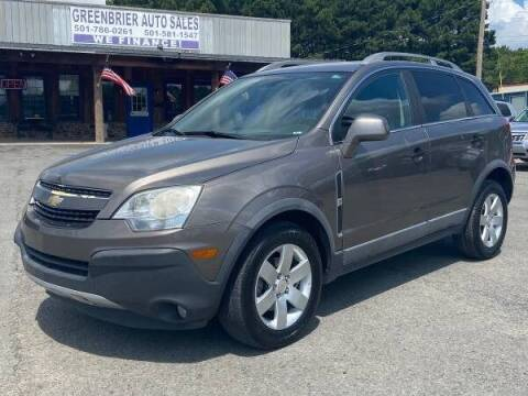 2012 Chevrolet Captiva Sport for sale at Greenbrier Auto Sales in Greenbrier AR