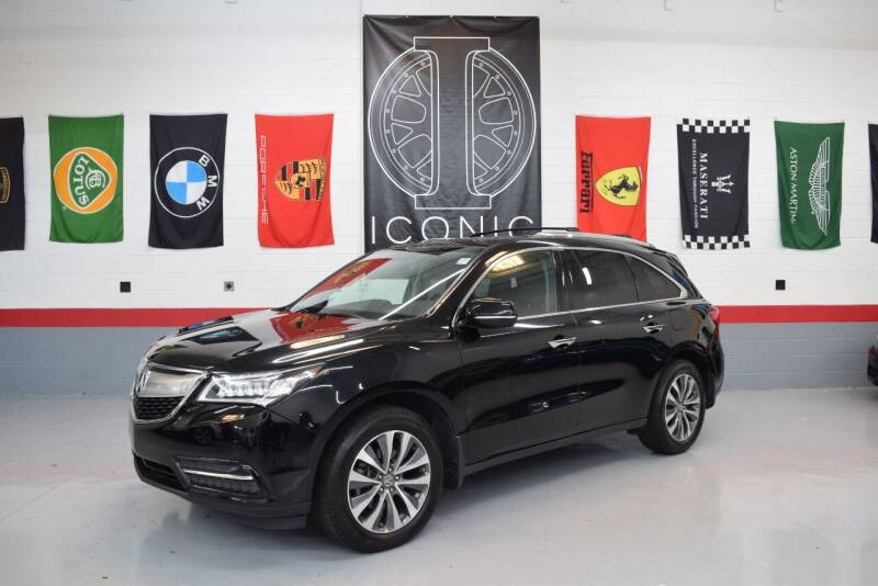 2015 Acura MDX for sale at Iconic Auto Exchange in Concord NC